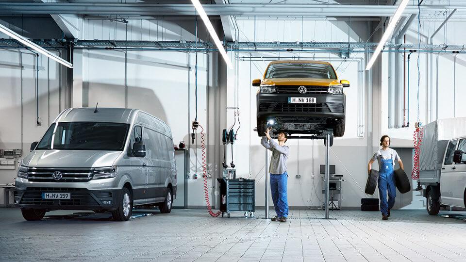service après vente Volkswagen utilitaires